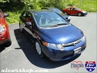 2007 Honda Civic Sdn DX-G 5spd manual INSPECTED - nlcarshop.com