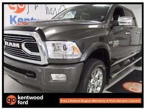 2016 Ram 2500 2500 Longhorn with heated leather seats, NAV, sunr