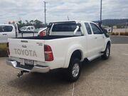 2013 Toyota Hilux KUN26R MY12 SR5 (4x4) Glacier White 5 Speed Manual X Cab Pickup Warwick Southern Downs Preview