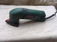 Bosch PDA 180 sander for getting in those tricky corners