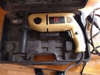 Hammer Drill, 1050w, includes carry case