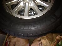 Michelin HydroEdge Tires 215/70R15