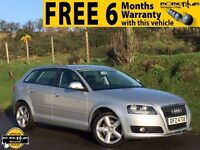 2010 AUDI A3 2.0 TDI SE 5DR 94k S LINE ALLOYS FULL SERVICE HISTORY MOTS JAN 18 IMMACULATE CONDITION