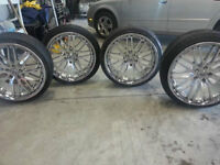 LEXANI RIMS and TIRES 20inch