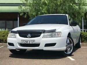 2006 Holden Crewman VZ S White 4 Speed Automatic Utility