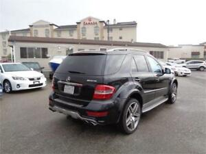 2011 MERCEDES ML63 AMG AWD LEATHER NAVI B CAM