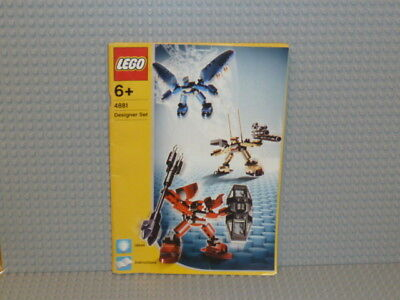 Designs Ideen-buch (LEGO® Creator Bauanleitung 4881 Designer Set Ideen Buch instruction B1659)