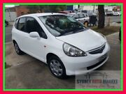 2005 Honda Jazz GD MY05 VTi White 5 Speed Manual Hatchback Condell Park Bankstown Area Preview