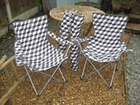 2 Gelert Folding Camping Chairs (price is for the pair)