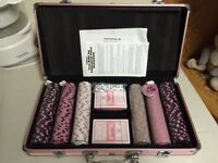 Deluxe Poker Set - never used