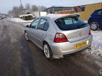 MG ZR Sport, 1.4 Petrol, Long mot, Cheap on incurance, 105BHP
