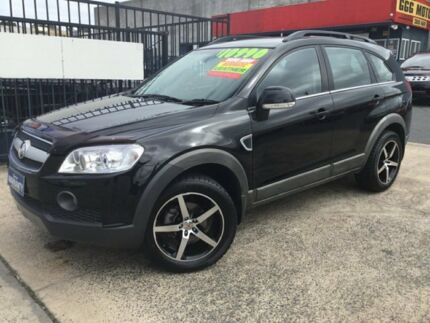 2007 Holden Captiva CG LX AWD Black 5 Speed Sports Automatic Wagon Underwood Logan Area Preview