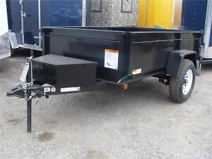 BLOW OUT!!!! 5X8 DUMP TRAILERS BY CARRY-ON - SINGLE AXLE 5K