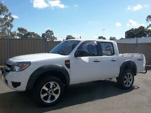 2010 Ford Ranger PK XL (4x4) White 5 Speed Automatic Dual Cab Pick-up Blacktown Blacktown Area Preview
