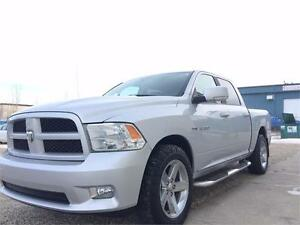 2010 Ram 1500 Sport 4x4 Loaded Heated/Cooled Leather $239 B/W