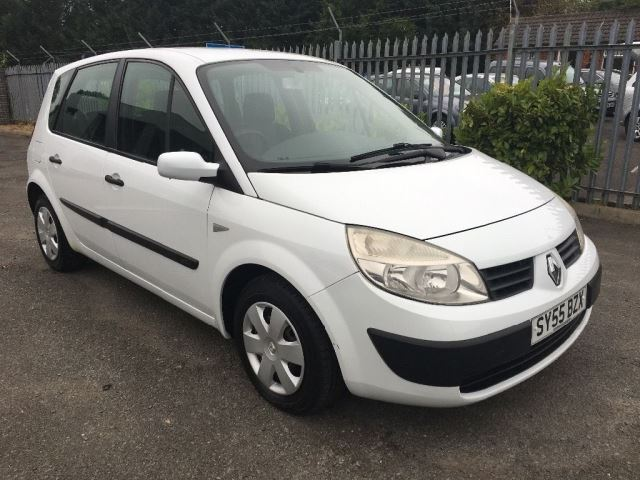 renault megane scenic authentique dci diesel white 2005 in maidstone kent gumtree. Black Bedroom Furniture Sets. Home Design Ideas