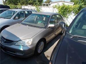 2002 Acura EL Touring RUNS AND DRIVES AS-IS AS-TRADED