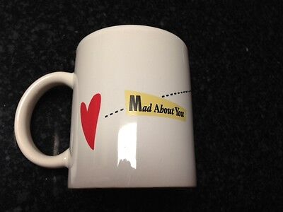 MAD ABOUT YOU MUG-1995-NBC TV SHOW 90'S-HELEN HUNT-PAUL REISER-VALENTINES DAY