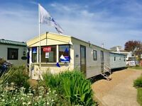 STATIC CARAVAN FOR SALE INCLUDING 2017 SITE FEES, SITED ON NORFOLK COAST. NR GREAT YARMOUTH