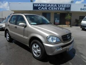 2002 Mercedes-Benz ML W163 320 (4x4) Aztec Gold 5 Speed Auto Tipshift Wagon Wangara Wanneroo Area Preview