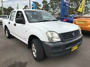 2003 Holden Rodeo RA DX White 5 Speed Manual Utility Sandgate Newcastle Area Preview