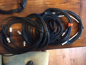 Mic Cables and various connectors