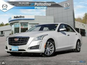 2016 Cadillac CTS Sedan Luxury Collection AWD - APPLE CAR PLAY -