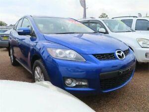 2007 Mazda CX-7 ER1031 MY07 Blue 6 Speed Sports Automatic Wagon