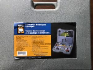 HARRIS STYLE WELDING AND CUTTING KIT