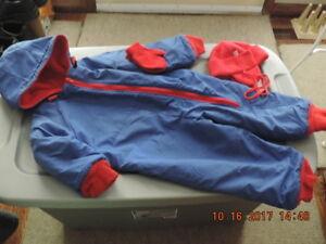 Size 18 months Snow Suits