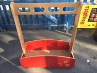 Children's dressing up trolley suitable for Pre-School, Nursery or home use