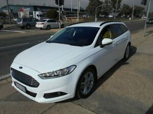 2016 Ford Mondeo MD Ambiente PwrShift White 6 Speed Sports Automatic Dual Clutch Wagon Fyshwick South Canberra Preview