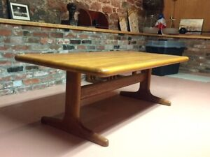 Danish Teak Coffee Table   (look at the thickness).