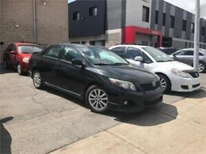 TOYOTA COROLLA SPORT/S, 2010, MANUAL, POWER WINDOWS AND MIRRORS,