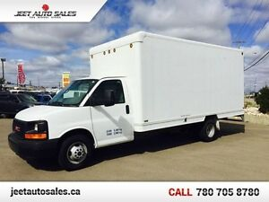 2011 GMC Savana Excellent Condition 16Ft Cube Van, 6.0L Gas
