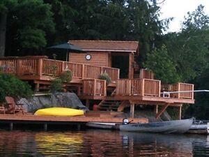 Room rental on lake