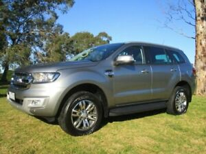 2015 Ford Everest UA Trend 4WD Silver 6 Speed Sports Automatic Wagon