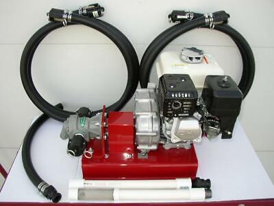 New Honda Gas Drive Bulkwaste Oil Pumpbiodieselheatersburnersfree Shipping