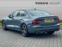 2021 Volvo S60 2.0 B5P R Design 4Dr Auto Saloon Petrol Automatic