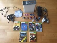 Xbox 360 bundle with 6 games