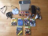 Xbox 360 bundle with 6 games