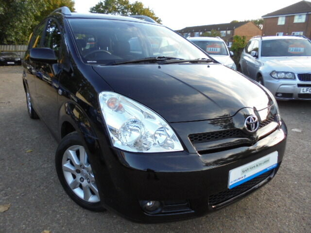 toyota corolla verso 1 8 vvt i t spirit black 2006 in greenford london gumtree. Black Bedroom Furniture Sets. Home Design Ideas