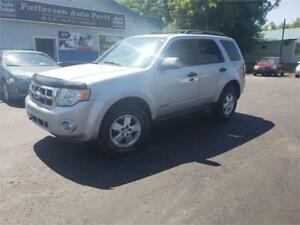 2008 Ford Escape XLT 4x4 Leather 132k safetied