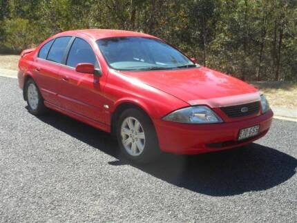 2002 FORD FALCON AUIII SR SEDAN 4LT AUTO BRISBANE REGO & SAFETY Clear Mountain Pine Rivers Area Preview