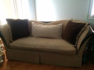 FREE COUCH IN GOOD CONDITION - NEW WAS $3,000 TODAY ITS FREE