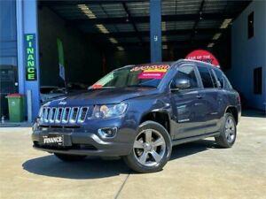 2014 Jeep Compass MK MY14 North Grey 6 Speed Sports Automatic Wagon Slacks Creek Logan Area Preview
