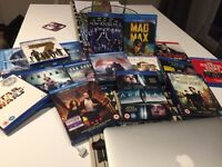 BLU RAY DVD'S SOME ARE 3D 77 IN TOTAL LISTED EXCELLENT CONDITION WATCHED ONCE
