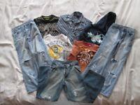 BUNDLE of DESIGNER BOYS CLOTHES Aged 9-10 (RED HERRING, GAP, NEXT etc)