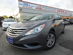 2011 Hyundai Sonata GL AUX,USB,BLUETOOTH HEATED SEATS CERTIFIED