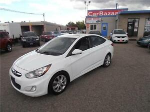 2012 HYUNDAI ACCENT SUNROOF ALLOYS GAS SAVER EASY FINANCING
